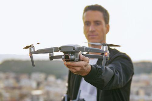 Drone videographer in dubai